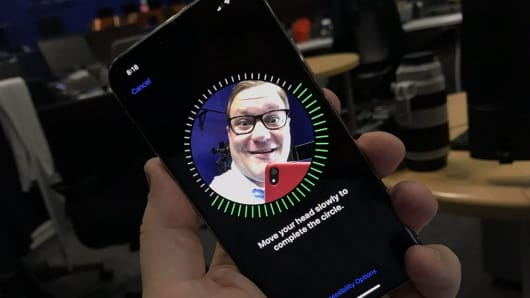 Face ID is super easy to set up