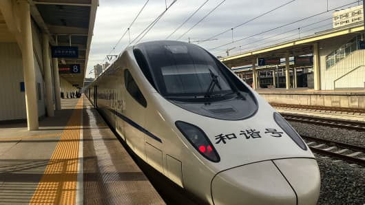 The LanzhouXinjiang High-Speed Railway, a high-speed rail in northwestern China from Lanzhou in Gansu Province to Urumqi along the new Silk road, has been seen as the foundation for the One Belt One Road initiative.