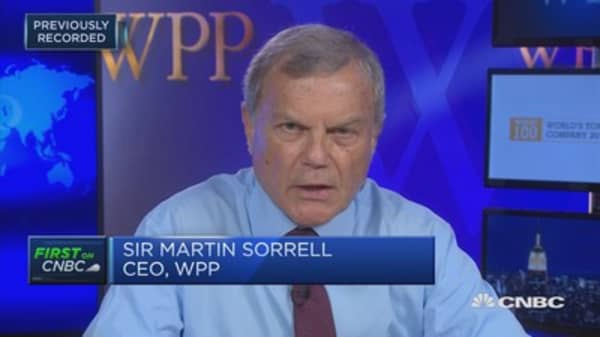 WPP's top clients are facing activist pressure, CEO says