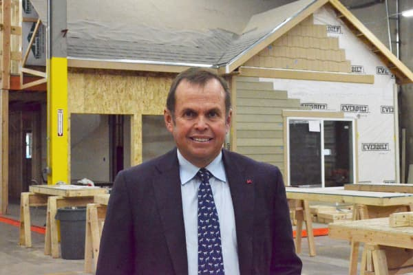 Pat Hamill, CEO of Oakwood Homes.