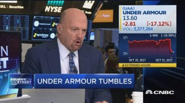 UA's Q3 results 'the worst of the quarter': Jim Cramer