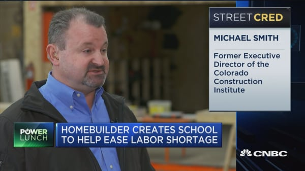 Homebuilder creates school to help ease labor shortage