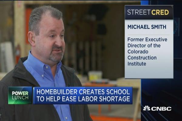 Homebuilder creates school to help ease labor shortage