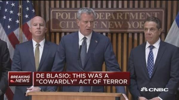 Eight dead, 15 injured at lower Manhattan incident