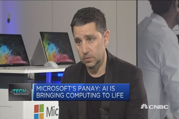 AI is bring computing to life, Microsoft exec says