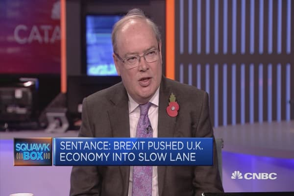 Brexit pushed UK economy into slow lane, economist says