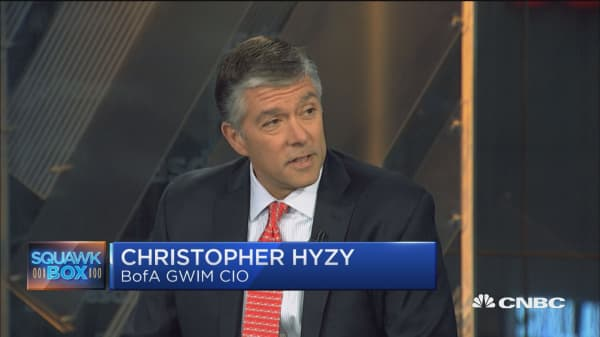 US equity markets 'healthy' but watch European high yield: Bank of America's Chris Hyzy