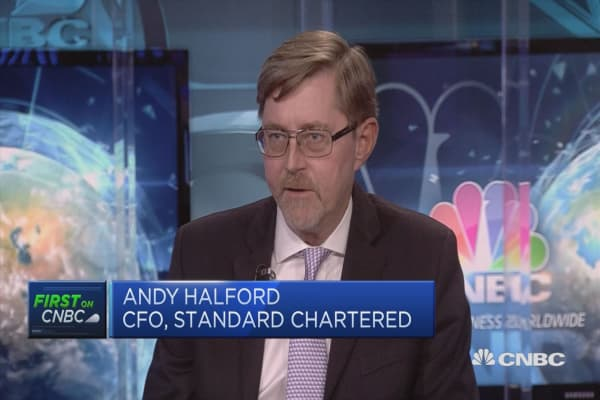 Markets focused on top line trajectory, hence share price correction: Standard Chartered CFO