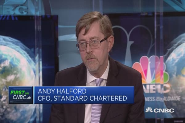 Standard Chartered CFO on Brexit and Frankfurt expansion