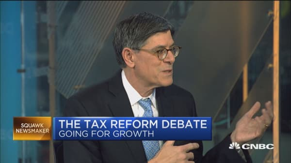 Jack Lew: Just lowering tax rate won't necessarily lead to increase growth