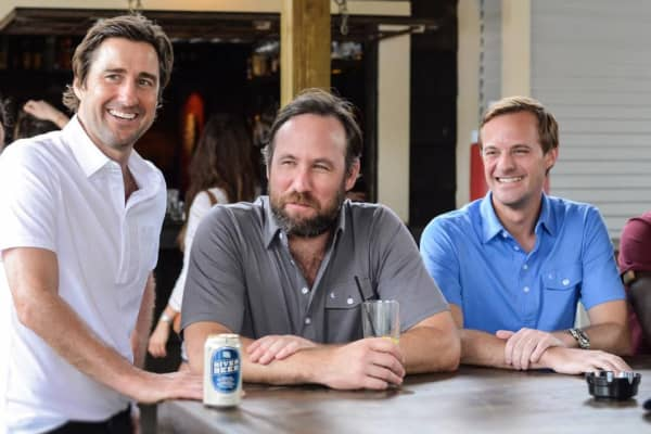 Actor Luke Wilson, featured with Criquet's founders