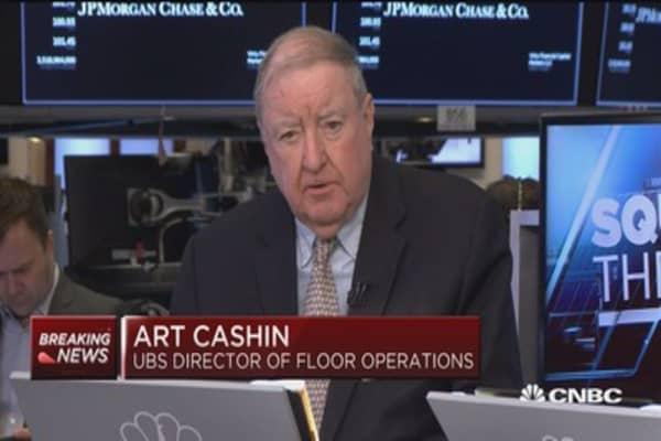 Art Cashin: November looks like a pretty good month for markets