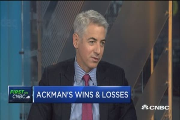 Bill Ackman: We were entirely right on Herbalife