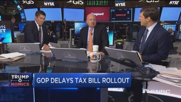 Cramer: GOP haven't thought tax plan through