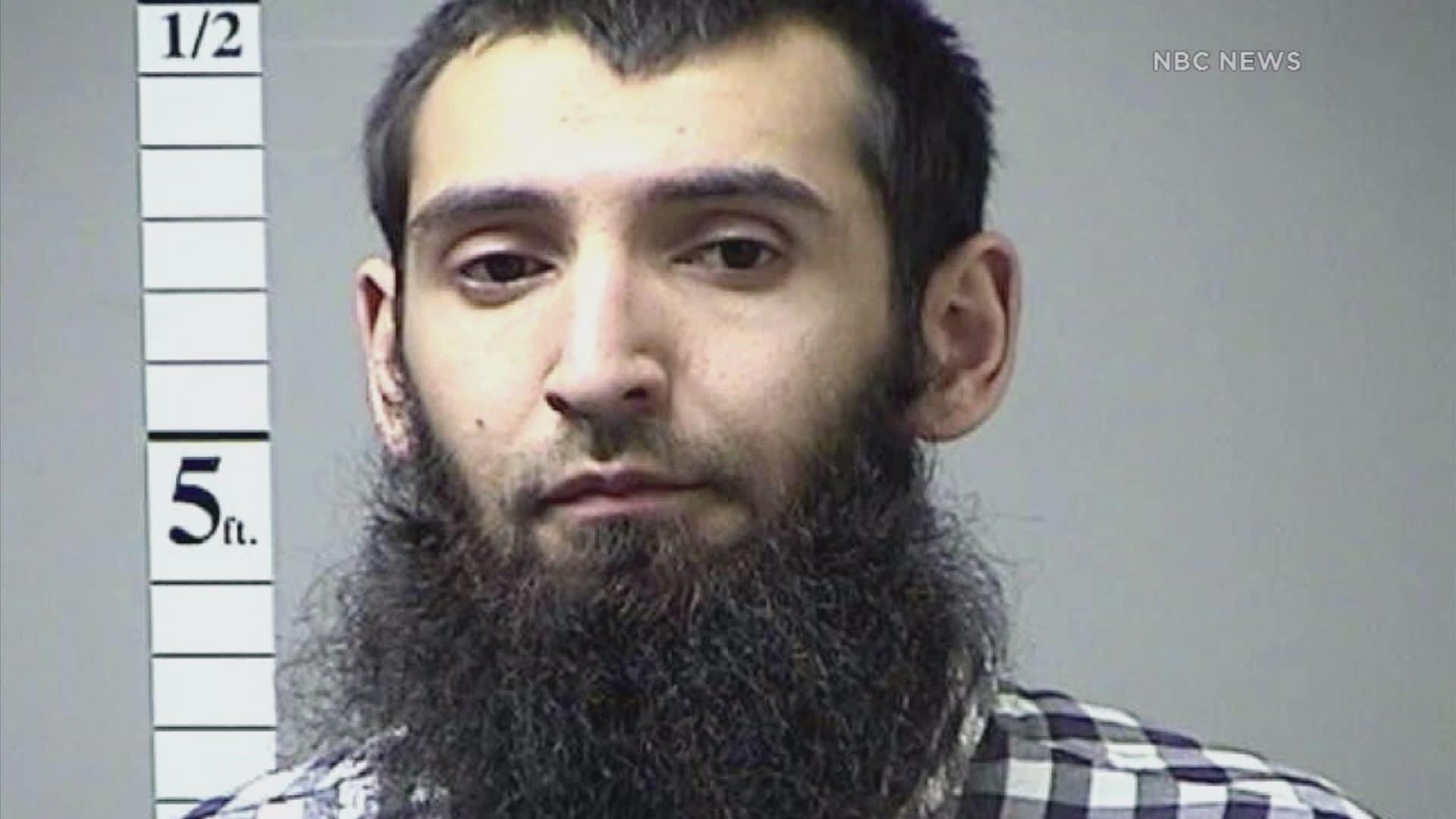 Suspect in New York Sayfullo Habibullaevic Saipov