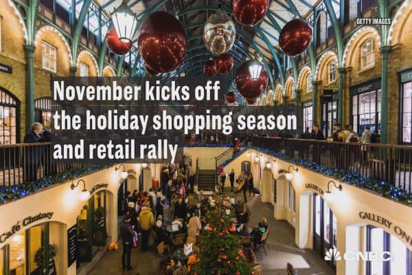 For November, retail is a good place to be in
