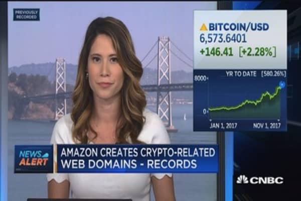 Amazon creates crypto-related web domains: Records