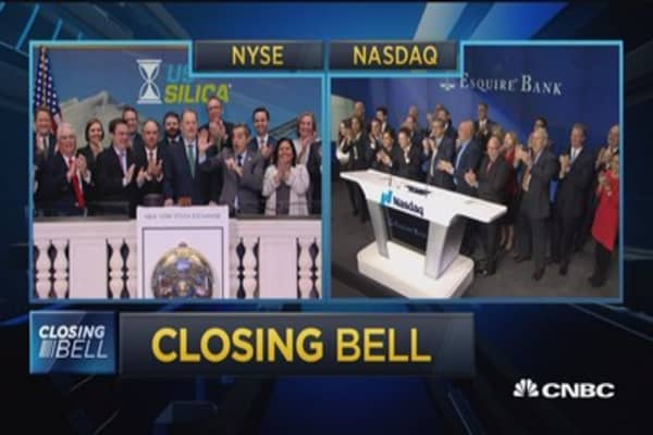 Closing Bell Ringer: November 1, 2017
