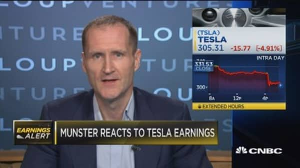 Gene Munster reveals why Tesla is your best bet in large cap tech
