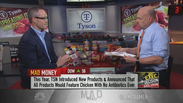 Tyson CEO on sustainability: 'Big food has to get in the ballgame'