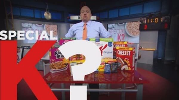 Cramer Remix: Why Wall Street has suddenly turned positive on Kellogg