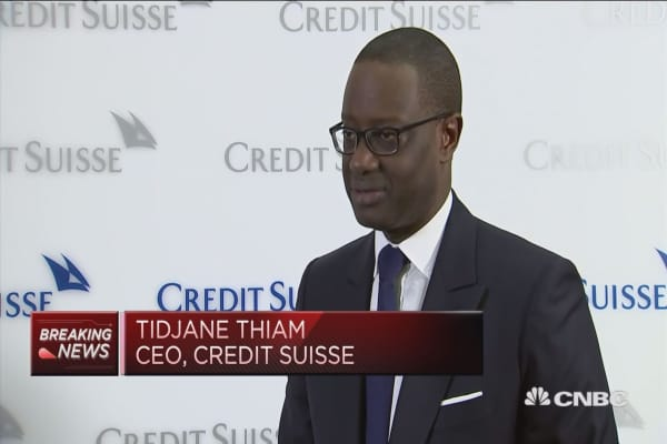 Credit Suisse not feeling pressure from activists, CEO says