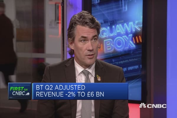 BT CEO on Italian business woes: 'I think it's behind us'