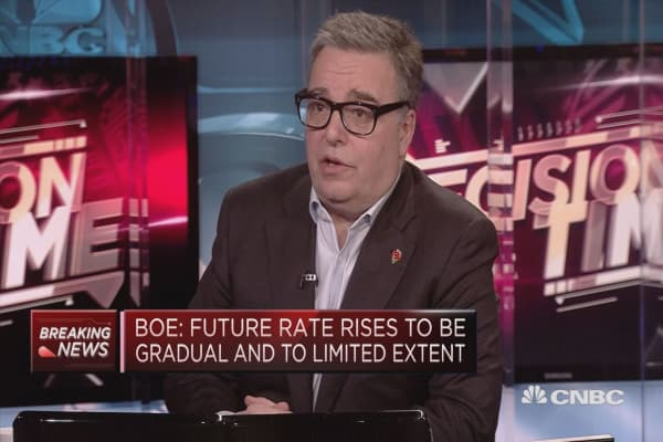 Bank of England rate hike decision no surprise, strategist says