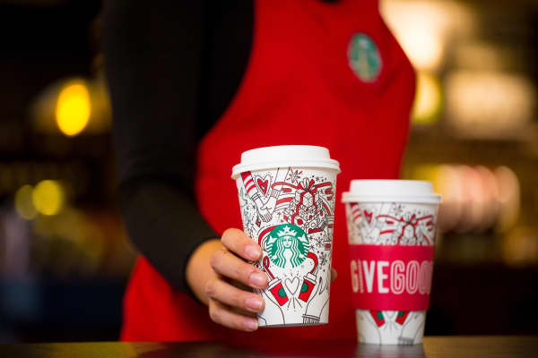 Starbucks 2017 holiday cup design