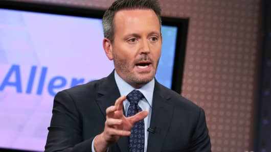 Brent Saunders, CEO, Allergan