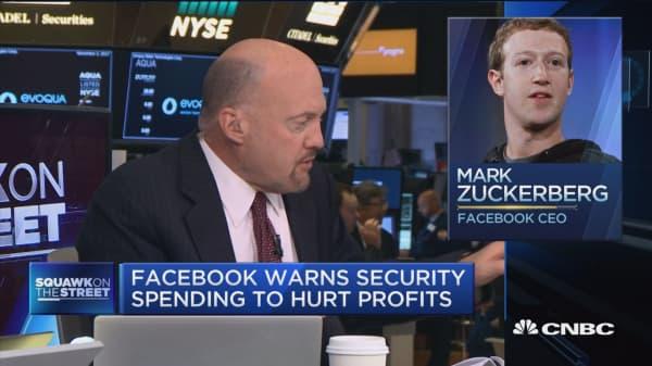 Zuckerberg's 'masterful conference call' provided 'brillant narrative': Jim Cramer