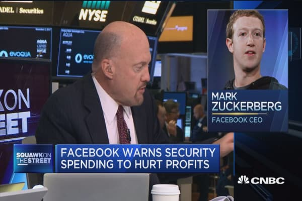 Zuckerberg's 'masterful conference call' provided 'brillant narrative': Jim Cramer