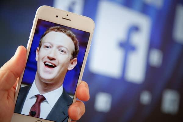 Mark Zuckerberg, CEO of Facebook.