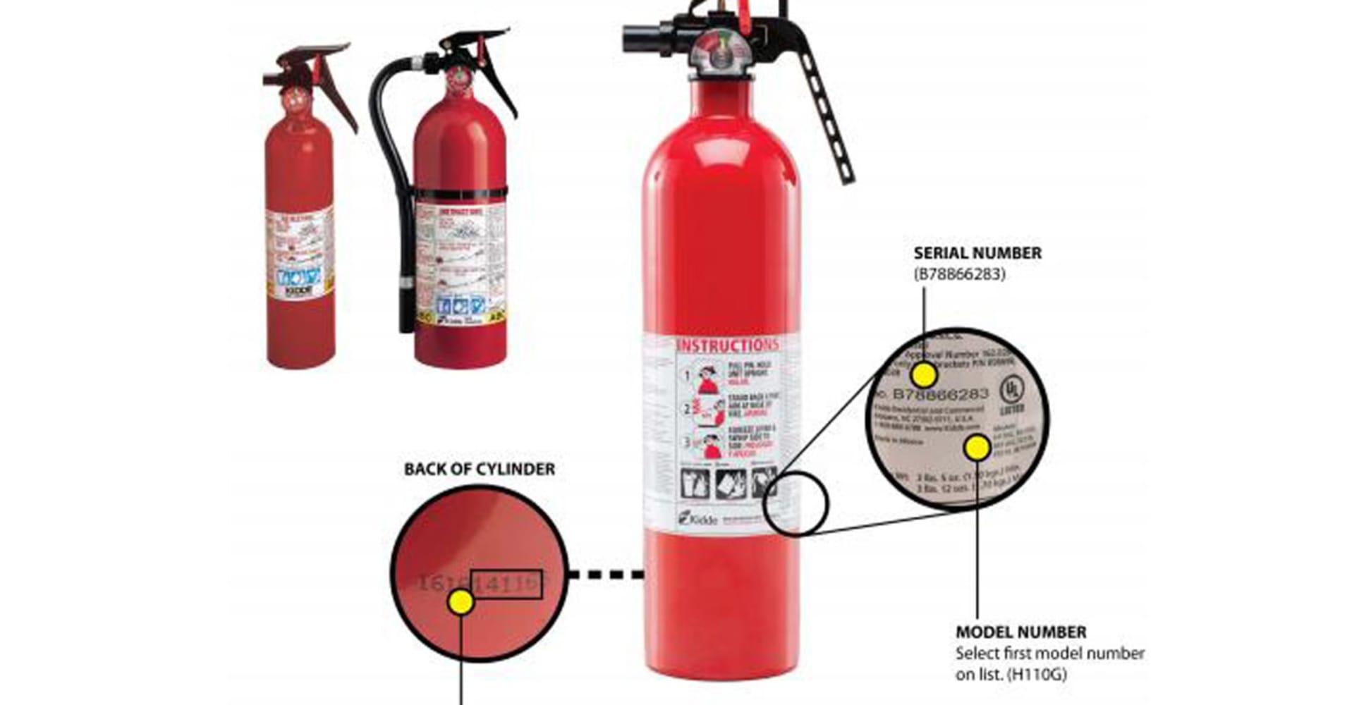 40 million kidde fire extinguishers recalled biocorpaavc Gallery
