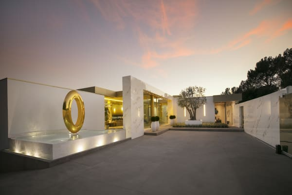 This $100 million LA mansion is has a gold Cristal room and a gold champagne shooter