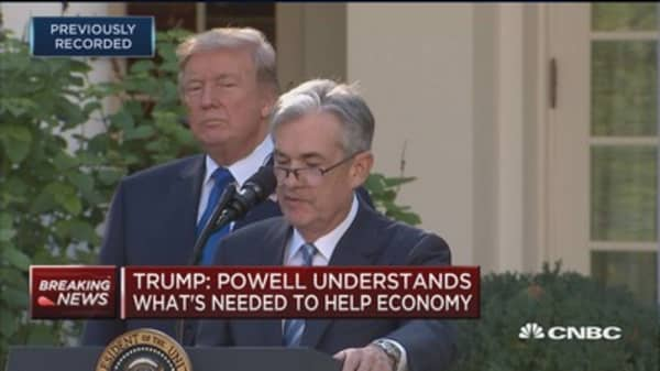 Jerome Powell: Will continue to ensure that the Fed remains vigilant