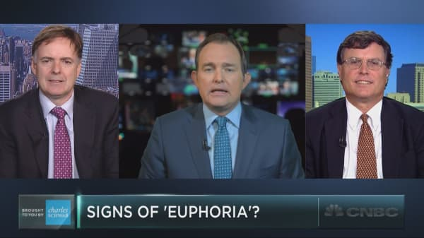 Signs of 'euphoria' seeping into the market?
