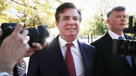 Manafort charged with making secret payments to European politicians