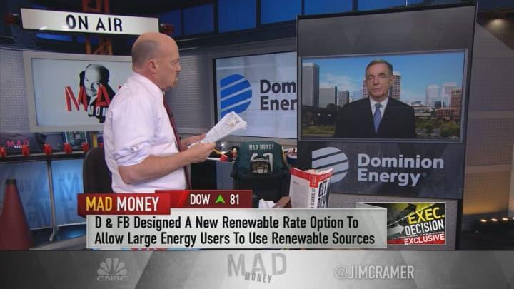 Dominion Energy CEO on Facebook deal for solar-powered data center