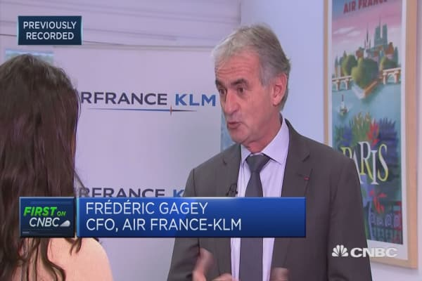 All measures contribted to solid result: Air France-KLM CFO Consolidation is key for our industry