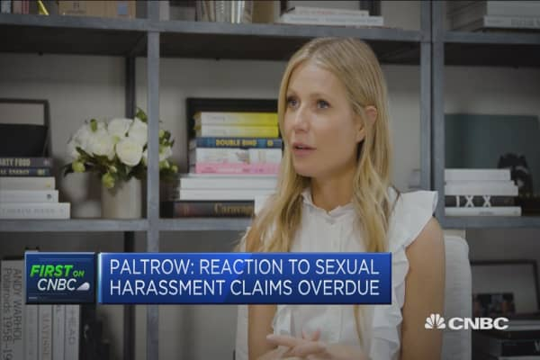 Gwyneth Paltrow: Hope daughter won't endure sexual harassment