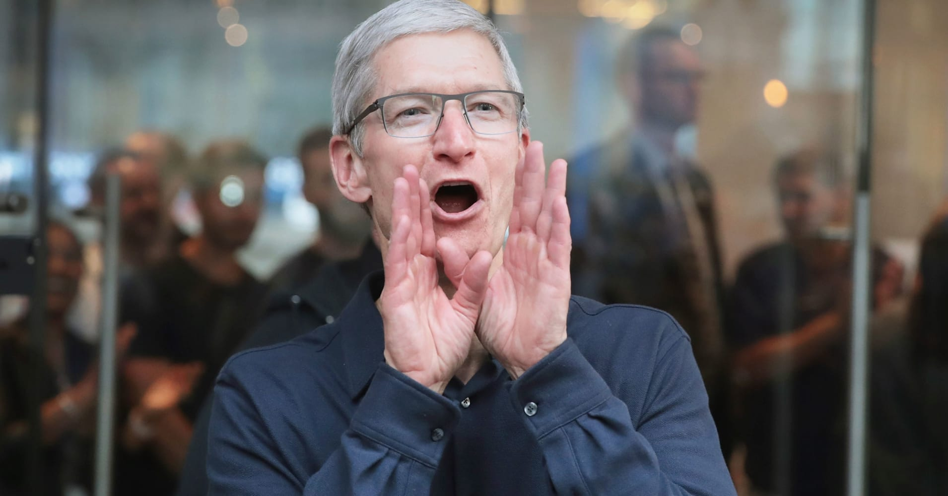 Apple's up 43,000 percent since its IPO, and could soon surpass $1 trillion in market cap