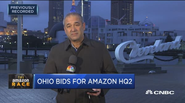 Amazon HQ2 search: Ohio