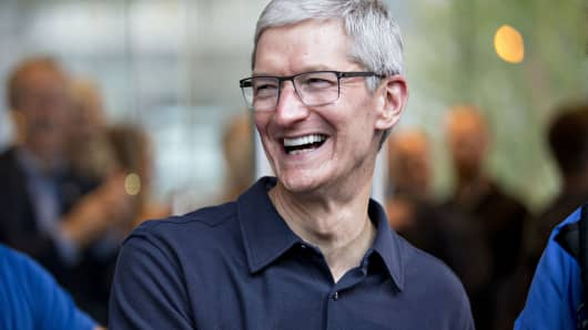 Tim Cook, chief executive officer of Apple, Inc.