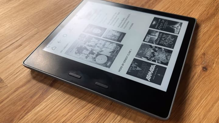 This is the new Kindle Oasis