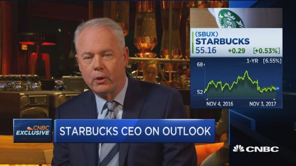 Starbucks CEO: We will not cede ultra-premium brand to anyone