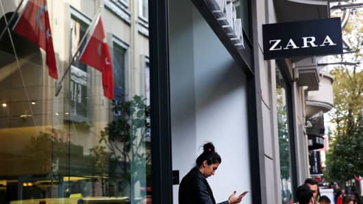 Unpaid Turkish clothes makers tag Zara items to seek help