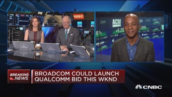 Will Broadcom really make a bid for Qualcomm?
