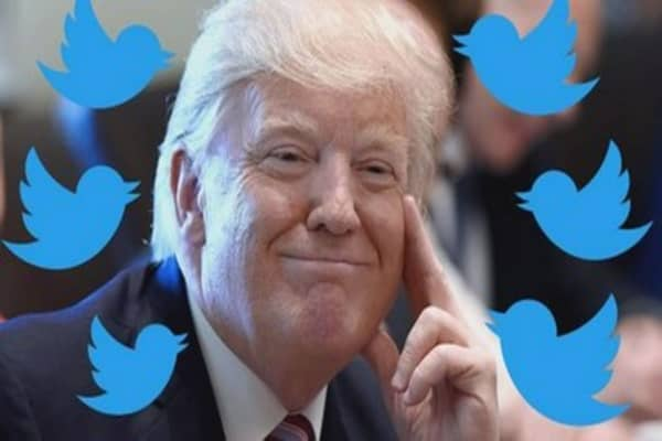 Trump tweets on Twitter account deactivation