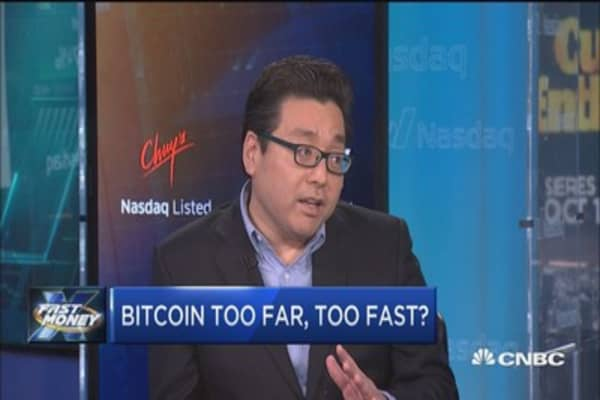 Fundstrat's Tom Lee: Bitcoin is at a premium to fundamentals here
